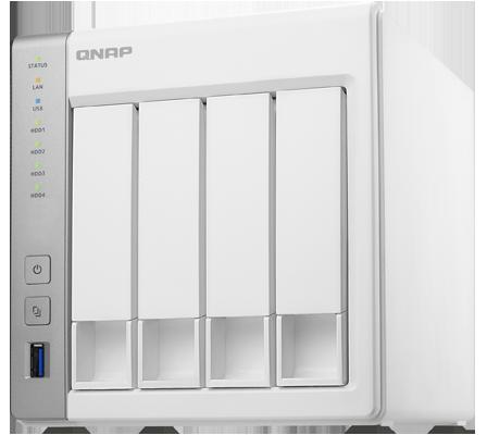 TS-431 Qnap - Storage NAS 4 HDs até 24TB Qnap