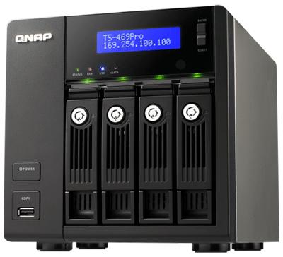 TS-469 Pro Qnap, Servidor NAS para 4 hard disks SATA