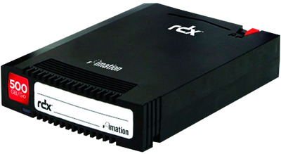 Fita de backup removível RDX 500GB  Imation