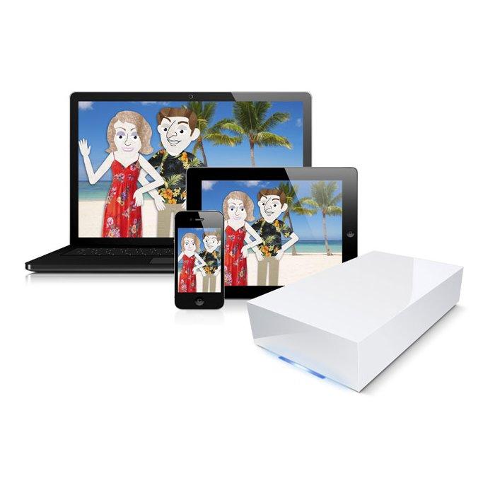 LaCie CloudBox 9000343 - HD externo de Rede 2TB
