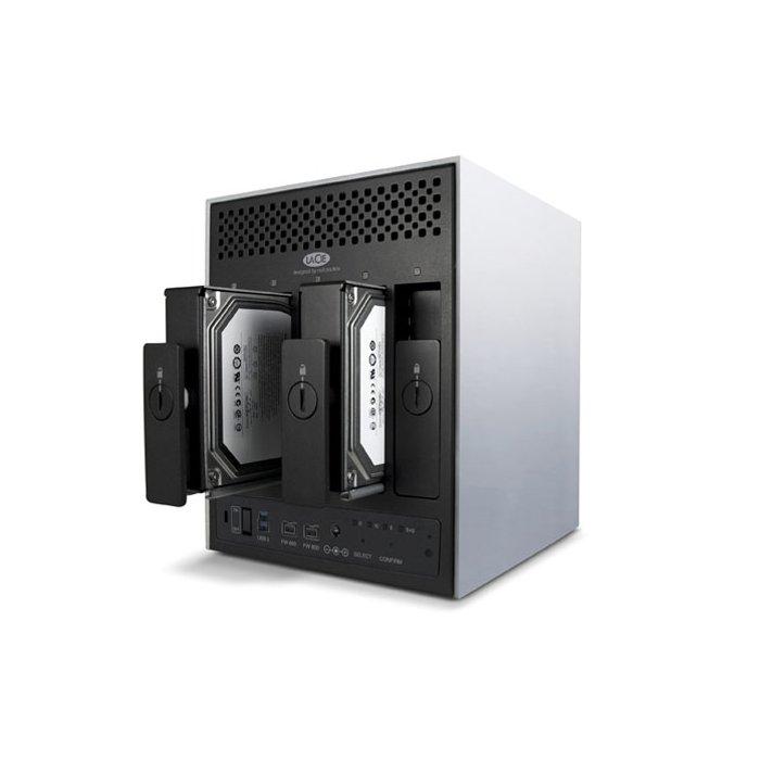 9000351U LaCie 4Big Quadra - HD Externo 12TB USB 3.0 e Firewire 400/800