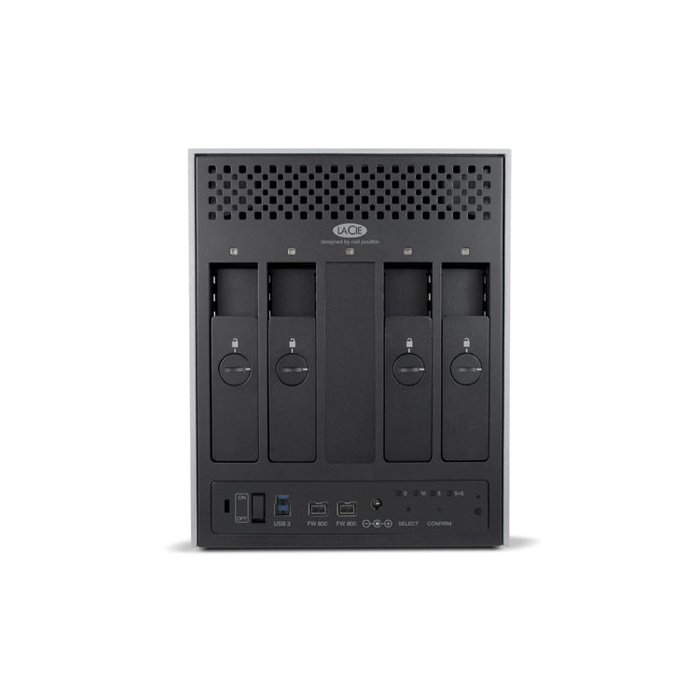 Disco externo 12TB LaCie 4big Quadra 9000351U