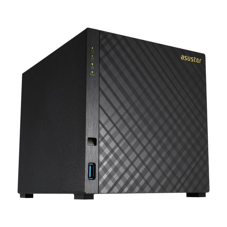 AS1004T Asustor - 4-Bay NAS para hard disks SATA 16TB