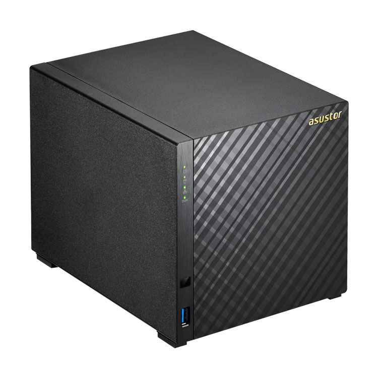 AS3204T Asustor - Storage NAS 4 discos SATA 20TB