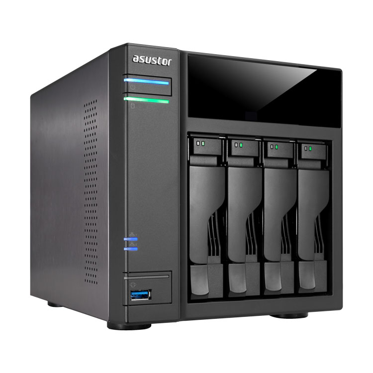 Storage NAS 4 bay 40TB SATA - AS6104T Asustor