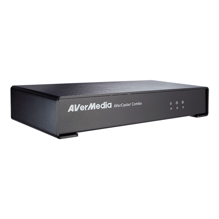 Avermedia AVerCaster Combo F236 - Servidor de Streaming Video Composto