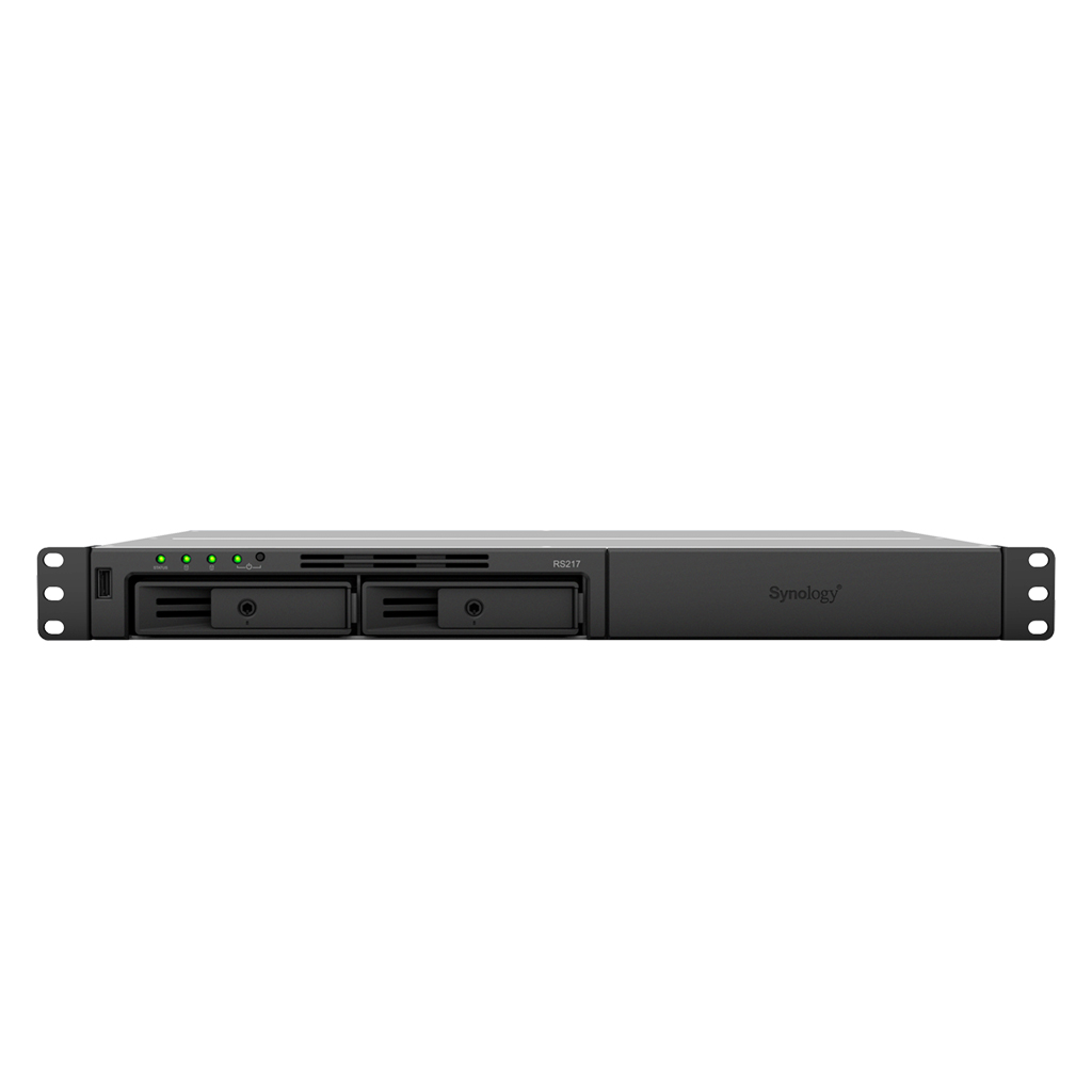 RS217 Synology RackStation, Backup Server para redes locais até 20TB