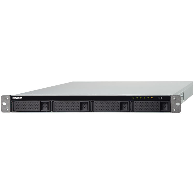TS-431XU Qnap - Cloud NAS rackmount 4 baias SATA até 40TB