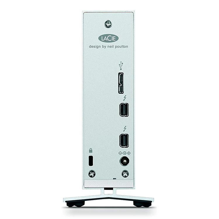 STEX8000401 LaCie d2 - HD Externo 8TB Thunderbolt 2 e USB3.0