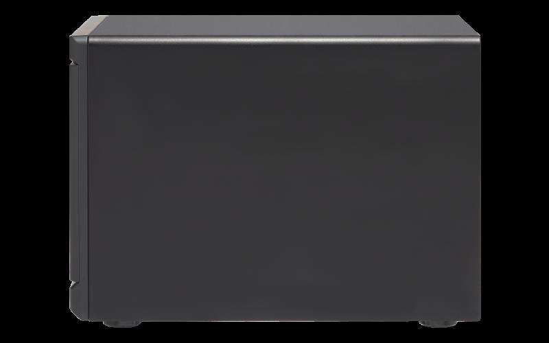 TVS-1282T3 Qnap - DAS, NAS e SAN IP com conexão LAN e thunderbolt 3