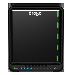 Drobo 5Dt - DAS Storage Thunderbolt 2 e USB 3.0 para 5 discos rígidos SATA
