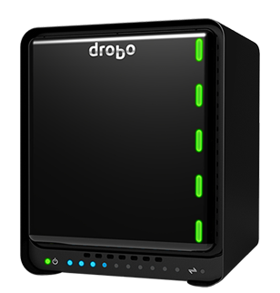 Drobo 5N - NAS Server 5 hard disks SATA até 50TB
