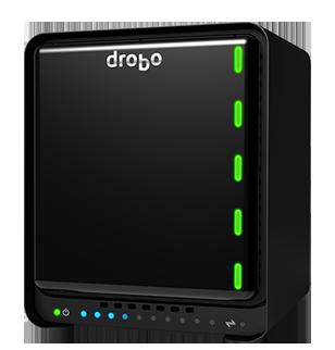 Drobo 5N2 - Server NAS 5 Hard Disks SATA até 50TB