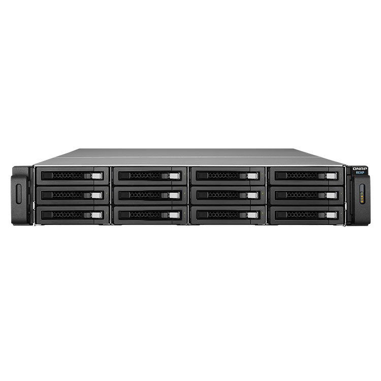 REXP-1200U-RP Qnap - Expansão JBOD SATA para storages NAS