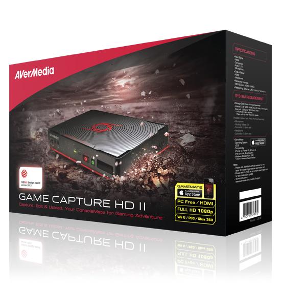 Placa de captura HDMI Game Capture 2 HD AverMedia