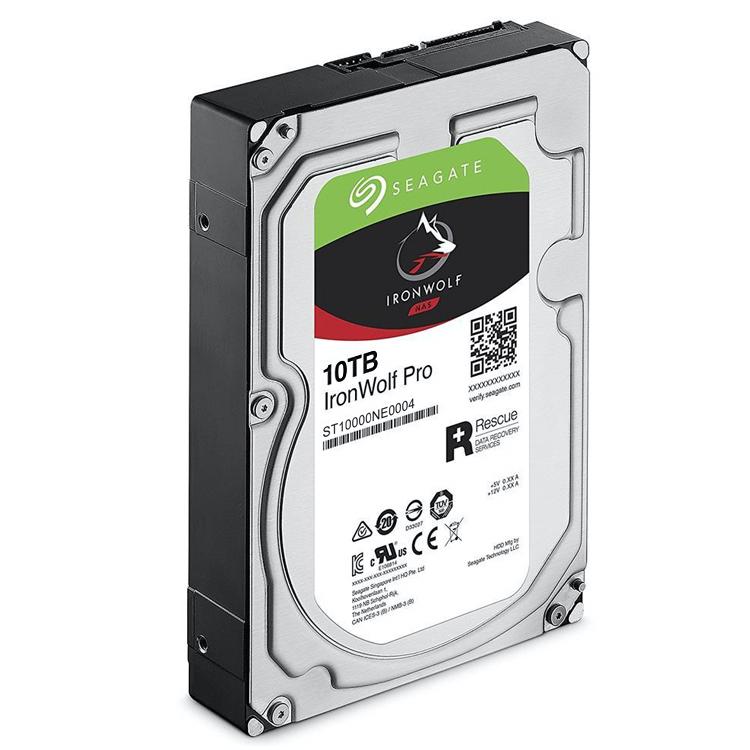 Seagate ST10000NE0004 - HD SATA para Servidor 10TB IronWolf Pro