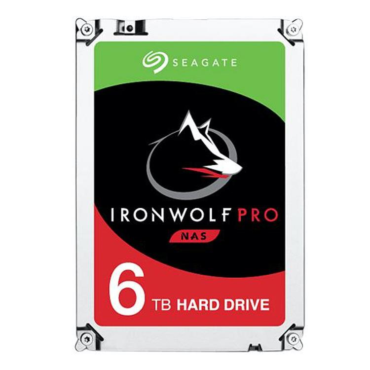ST6000NE0021 Seagate - HD SATA 6TB IronWolf Pro 3,5