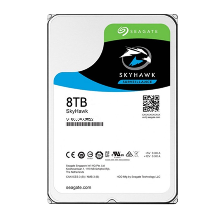 Seagate ST8000VX0022 - HD 8TB SATA 6Gb/s surveillance SkyHawk