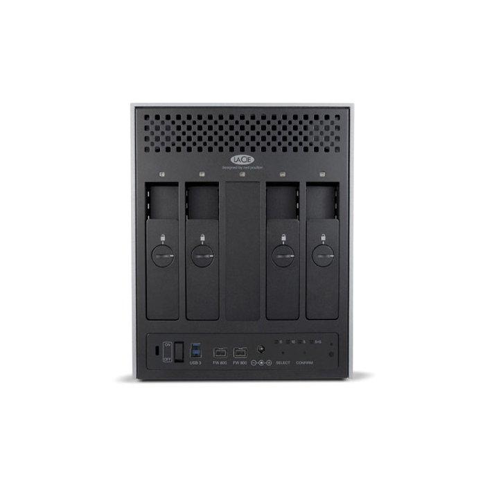 9000505U LaCie 4Big Quadra - HD Externo 20TB USB 3.0 e Firewire 400/800