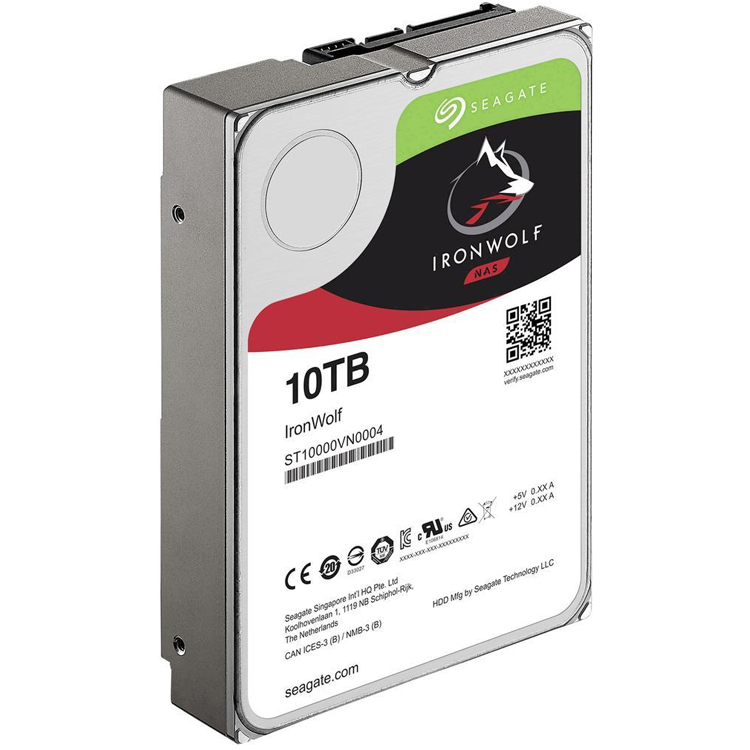 ST10000VN0004 Seagate - HD SATA 10TB IronWolf