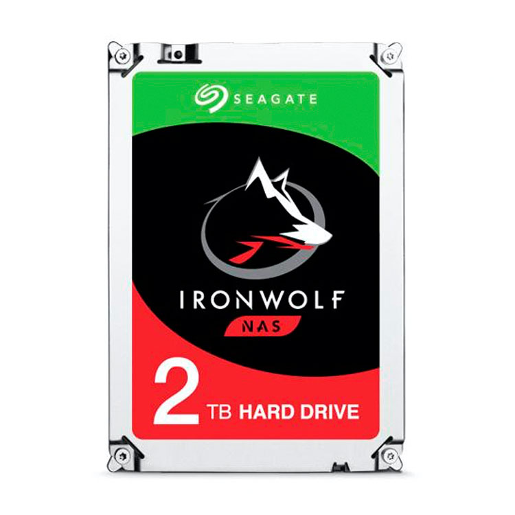ST2000VN004 Seagate - HD Interno SATA 2TB 5900rpm IronWolf