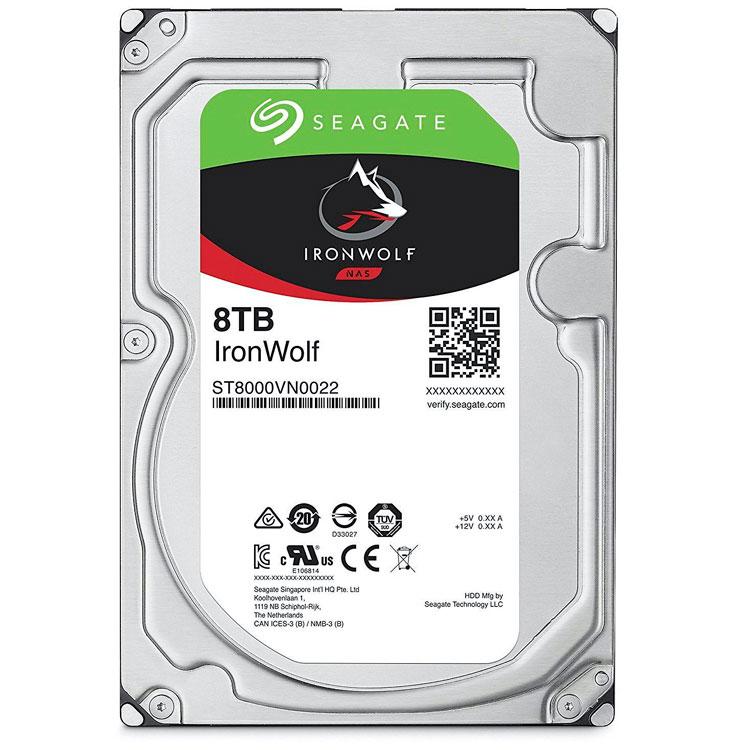 IronWolf ST8000VN0022, HD SATA 8TB 7200rpm Seagate