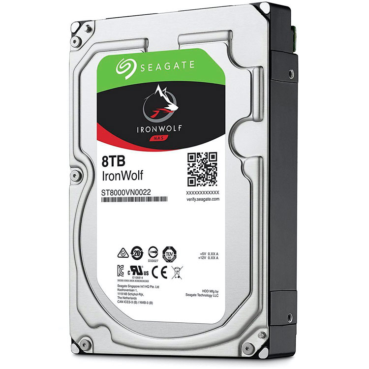 IronWolf ST8000VN0022, HD SATA 8TB 7200rpm Seagate