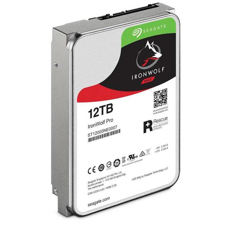 HD Seagate 12TB - IronWolf Pro 7200RPM ST12000NE0007