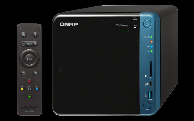 TS-453B Qnap - NAS 4 baias para hard disks SATA até 48TB