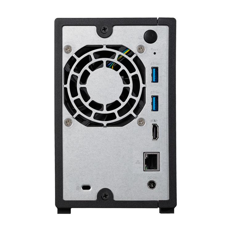 NAS 4TB AS1002T 2 hard disks SATA Asustor