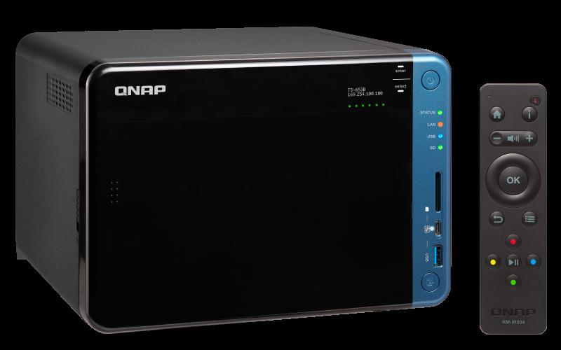 TS-653B Qnap - NAS 6 bay para discos SATA até 72TB