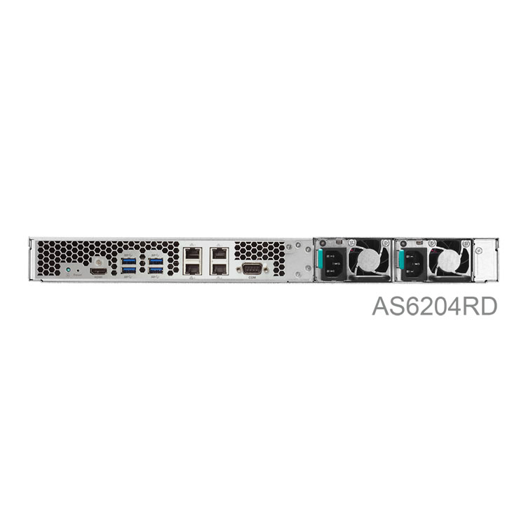 NAS Server Rackmount 40TB SATA - Asustor AS6204RD