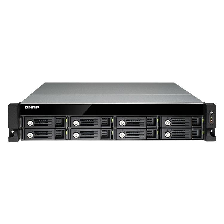 TVS-871U-RP Qnap - NAS storage rackmount para discos SATA até 64TB