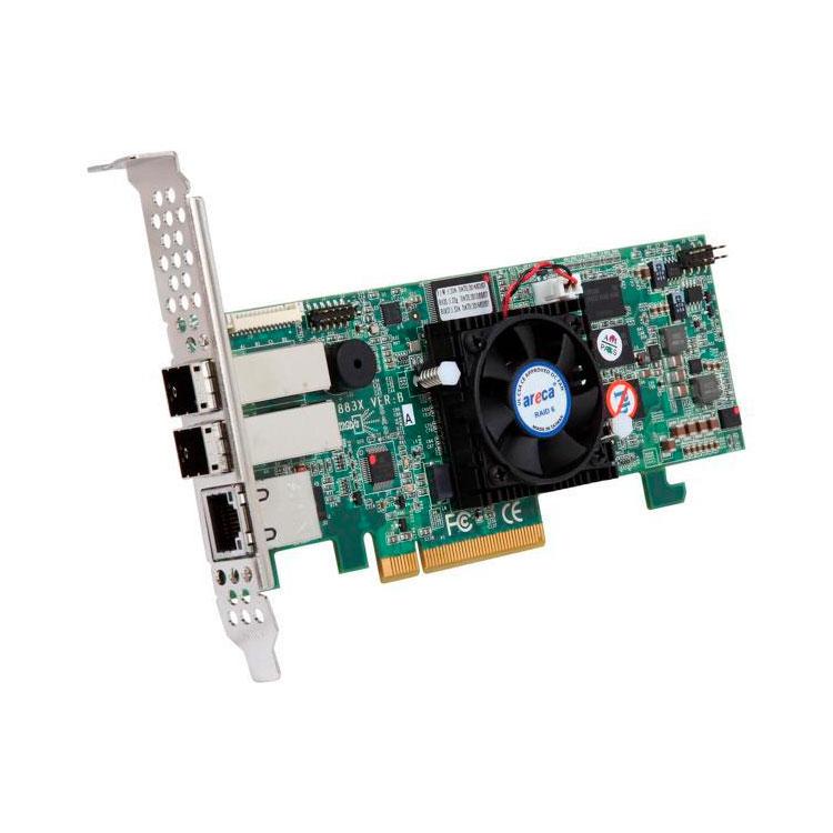 RAID Controller Mini SAS 2 portas SFF-8644 - Areca ARC-1883X