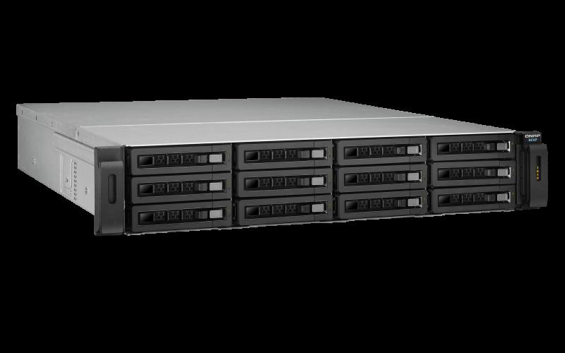 Qnap REXP-1220U-RP - Gabinete de expansão SAS 12 baias hot-swappable