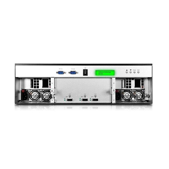 RS16JS Ultrastor - Unidade de expansão JBOD hot swappable até 48TB SATA
