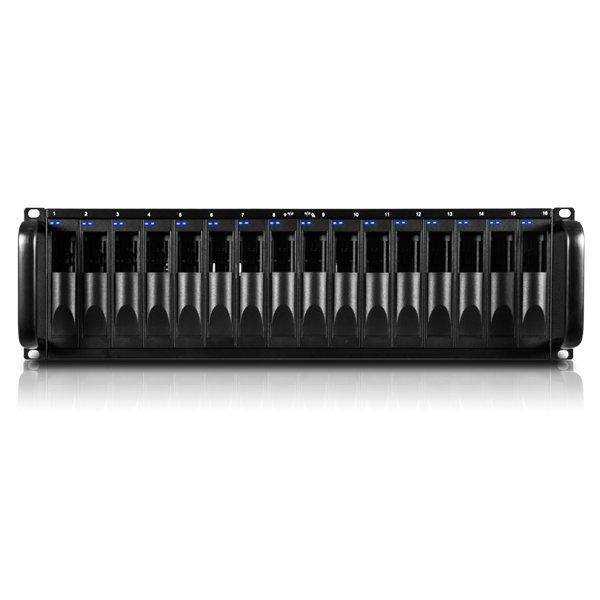 ProAvio RS16FS - Storage fibre channel para 16 discos SATA / SAS até 32TB