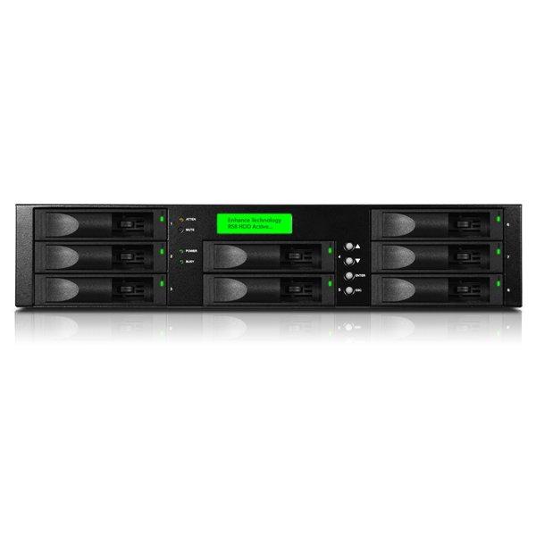 RS8IP4 - iSCSI Storage System SAS até 32TB