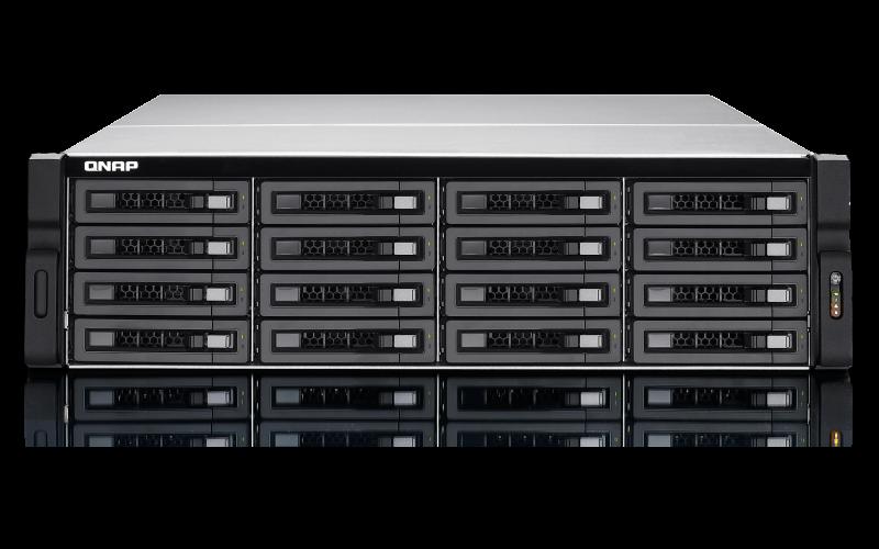 TVS-EC1680U-SAS-RP R2 Qnap - SAS Storage com Recursos NAS / iSCSI-SAN