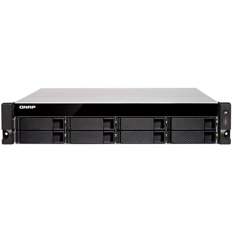 TS-831XU-RP Qnap - Server NAS Rackmount até 200TB