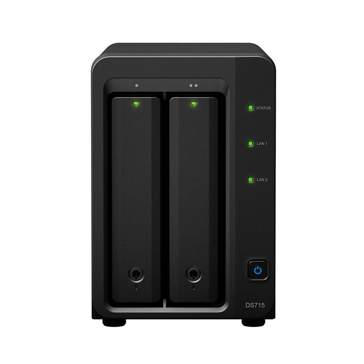 Mini Servidor NAS 8TB DiskStation DS715 Synology