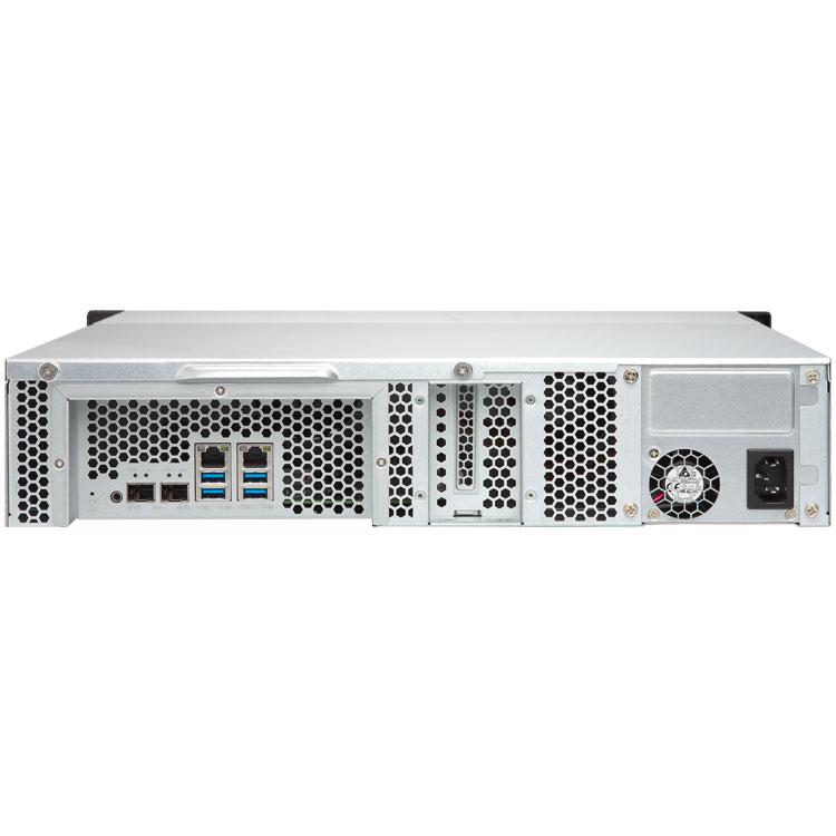 TS-1231XU Qnap - Servidor NAS para backup até 120TB