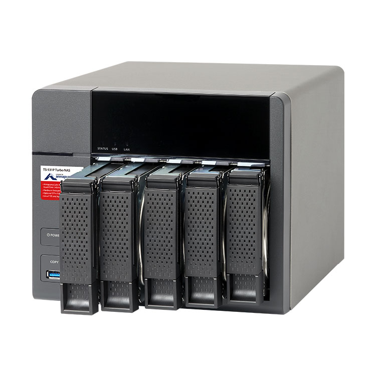 Qnap TS-531P - 5 bay Storage 15TB