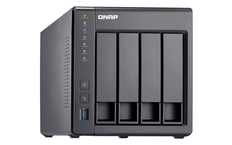 TS-431X2 Qnap - Storage 16TB com 4 baias hot-swappable