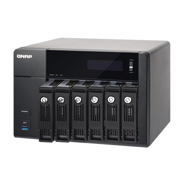 TVS-671 Qnap - 6 bay NAS p/ discos SATA 18TB