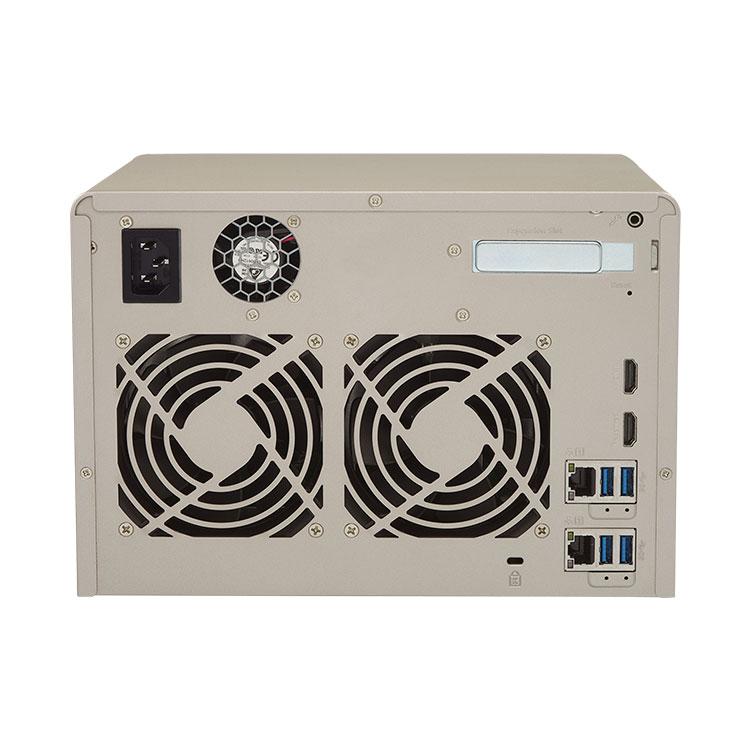 TVS-663 Qnap - Storage 36TB 6 bay NAS para discos SATA