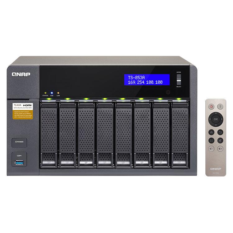 TS-853A Qnap - Storage NAS 8 bay SATA 40TB