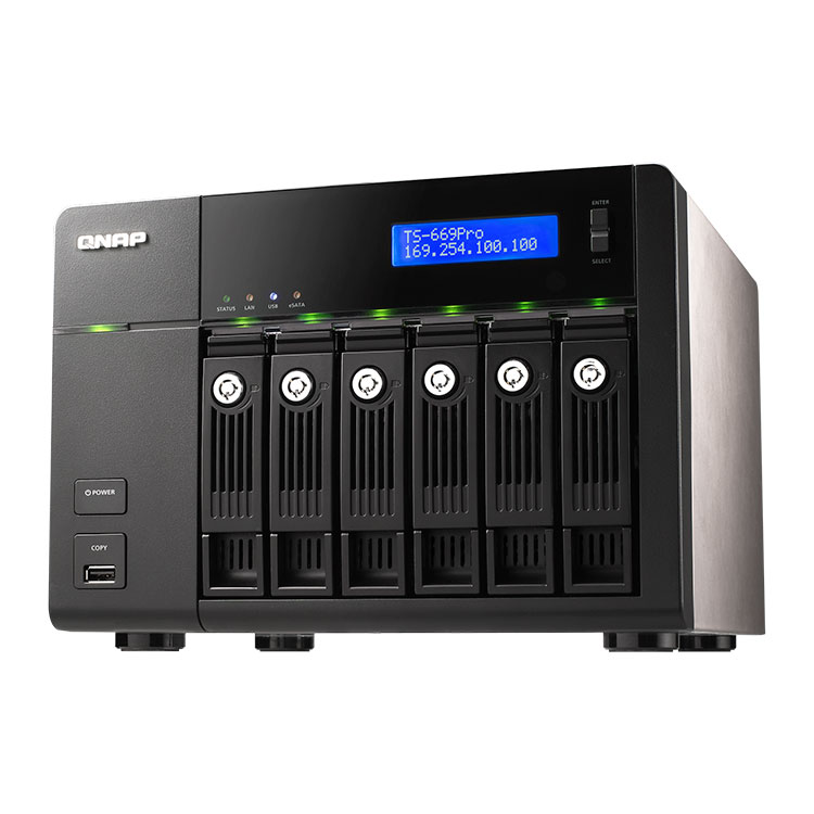 Storage 6tb desktop storage sata qnap for Storage bay