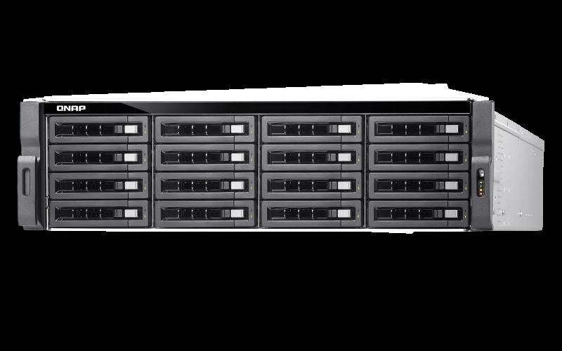 TDS-16489U Storage Server para discos SAS até 160TB