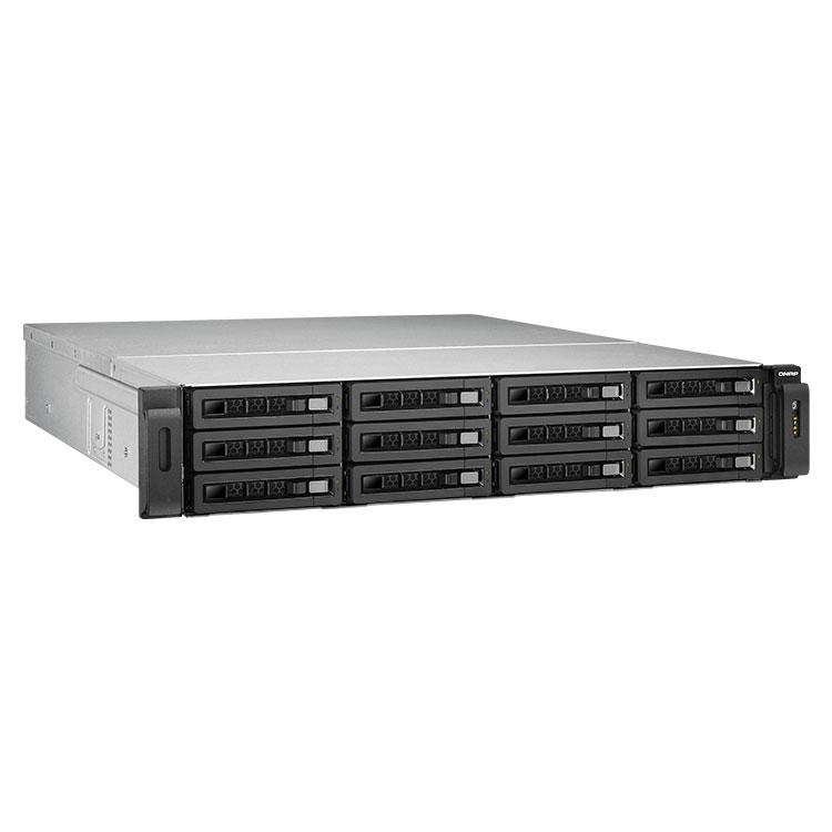 TS-EC1279U-SAS-RP Qnap - Storage SAS 12 hard disks até 120TB